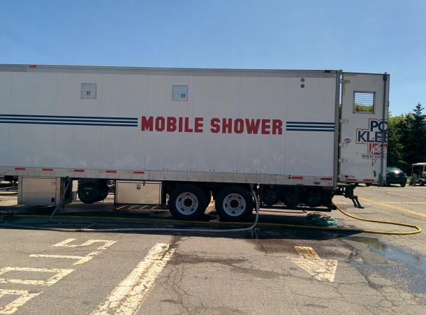 Mobile showers!