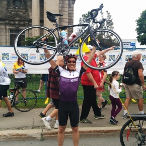 My Journey to the Ride to Conquer Cancer 2014