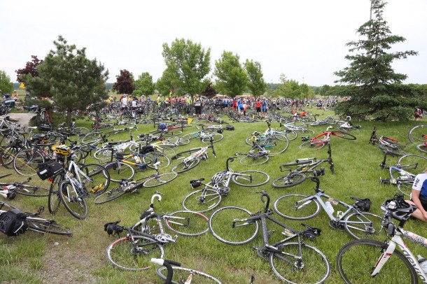 Not ONCE during the entire weekend did I worry about leaving my bike unattended at a pit stop or during lunch. Everyone there is part of a community, and there was great comfort knowing that.
